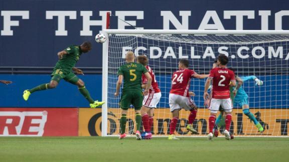 FC Dallas 2-2 Portland: Thriller ends level