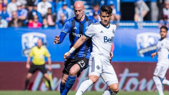 Montreal 1-2 Vancouver: Whitecaps complete comeback