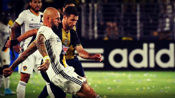 LA 0-0 Philadelphia: Galaxy, Union trade chances