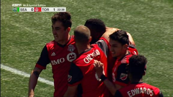 Seattle 0-1 Toronto FC: Depleted Reds win rematch