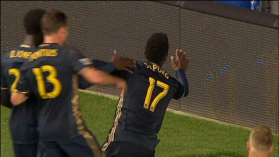 Union 3-0 Red Bulls: Sapong ends drought