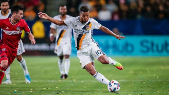 LA Galaxy 2-2 Chicago: Galaxy fight back
