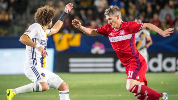 Schweini having trouble acclimating to MLS?