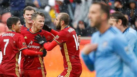 Real Salt Lake 2-1 NYCFC: Rusnak helps end skid