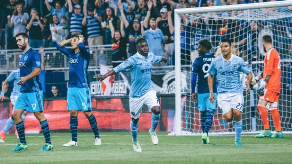 Sporting KC 3-0 Seattle: Gerso the difference