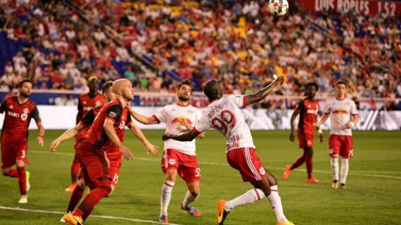 New York 1-1 Toronto FC: Dramatic draw at RBA
