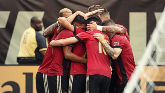 Atlanta 3-1 Columbus: Stars shine in Georgia