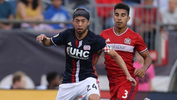 New England 1-2 Chicago: Fire burn Revs