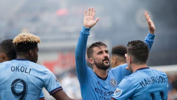 NYCFC 2-1 Seattle: Villa sparks comeback