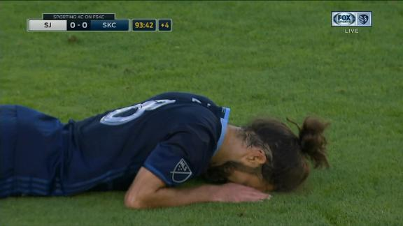 San Jose 0-0 Sporting KC: Zusi denied