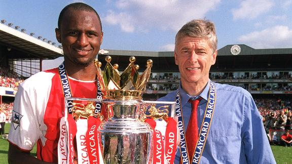 Vieira: No better manager for Arsenal than Wenger