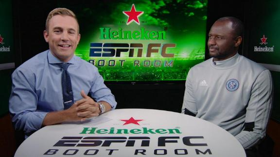 Vieira: NYCFC can frustrate Seattle Sounders