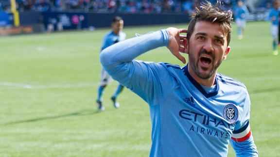 Vieira: David Villa more than a goalscorer
