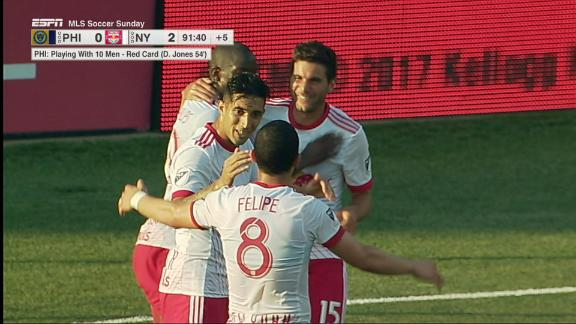 Philadelphia 0-2 New York: BWP lifts Red Bulls