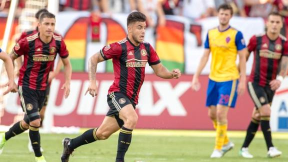 Atlanta 1-0 Colorado: United break through