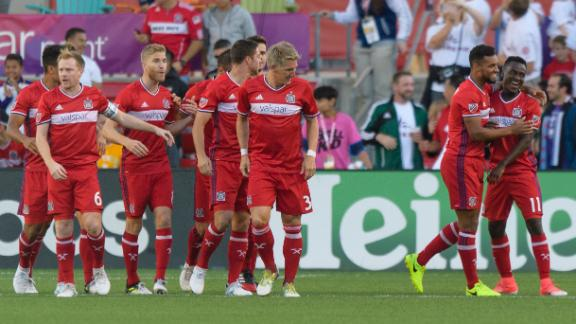 Chicago 4-0 Orlando: Accam dominates