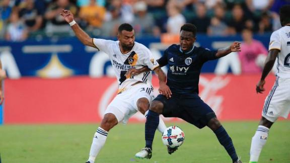LA Galaxy 1-2 Sporting KC: Mishaps and magic