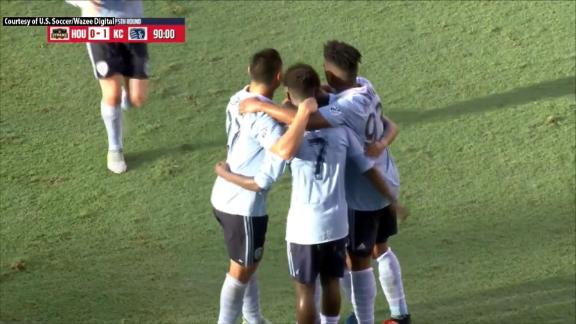 Houston 0-2 Sporting KC: SKC move on