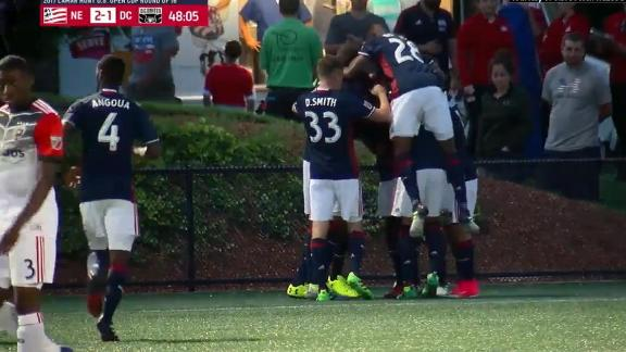 Revolution 2-1 DC United: Wright lifts Revs