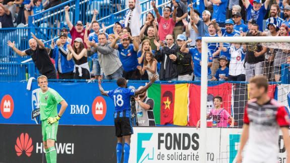 Montreal 2-0 D.C. United: Dzemaili's show