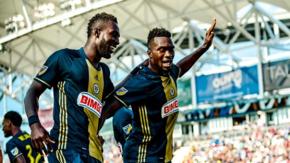 Union 3-0 Revolution: High-octane Philly