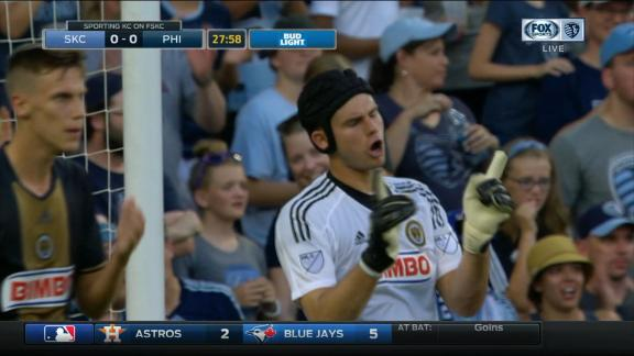 Sporting KC 1-1 Philly: McCarthy stands tall