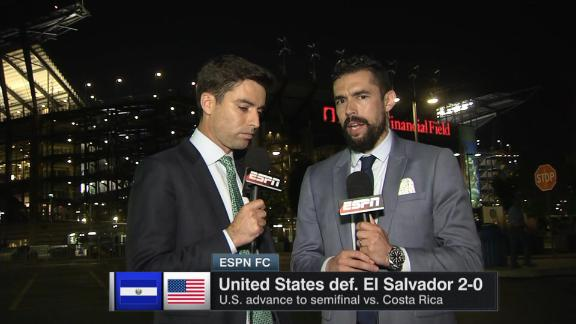 CONCACAF Gold Cup: El Salvador players banned after biting incidents
