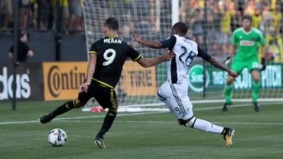 Columbus 1-0 Philadelphia: Deflection sinks Union