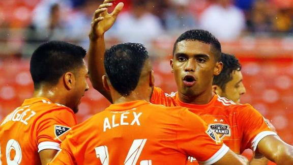 DC United 1-3 Houston: Dynamo dominate