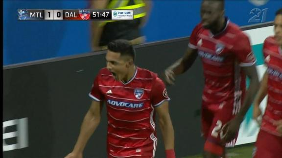 Montreal 1-2 FC Dallas: Colman's big night