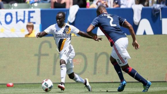 New England 4-3 L.A.: Revs win barn-burner