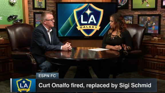 Schmid hired as LA Galaxy coach after Onalfo dismissal