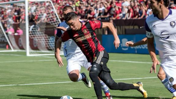 Atlanta 1-1 Orlando: Atlanta leave it late