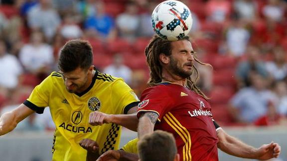 RSL 2-2 Columbus: Kamara saves Crew SC