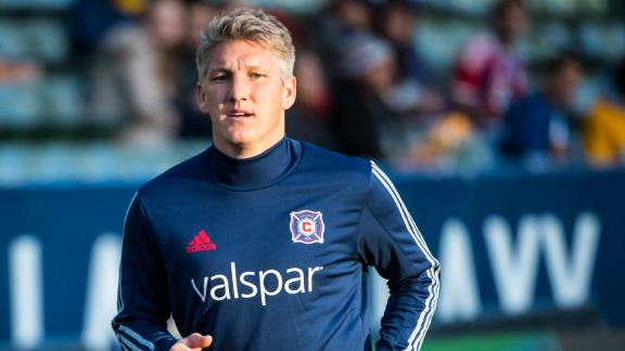 Schweinsteiger: Chicago hungry for MLS Cup