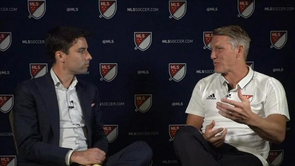 WATCH: Schweini talks MLS All-Star Game