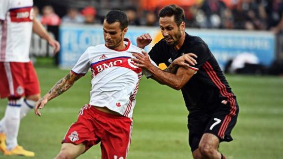 D.C. United 1-1 Toronto FC: TFC miss chance