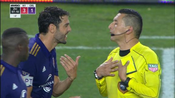 Kaka receives weird red card after VAR used to punish joke