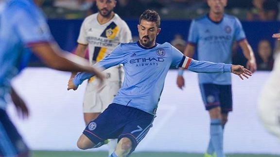 LA Galaxy 0-2 NYCFC: Villa extends goal lead
