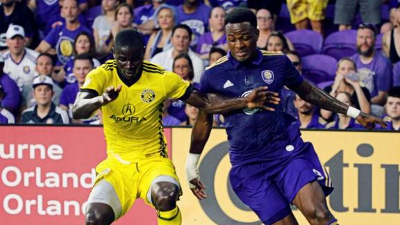 Orlando City 1-1 Columbus: Dramatic draw