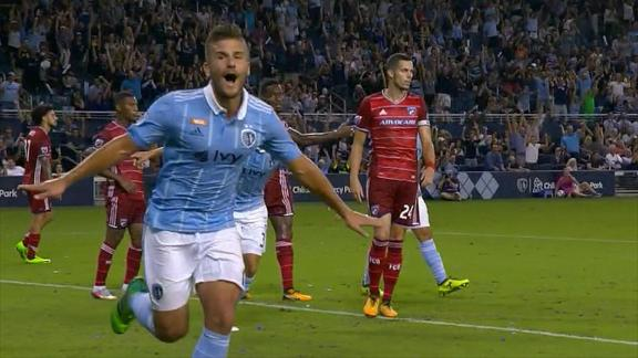 Sporting KC 2-0 FC Dallas: SKC dominate