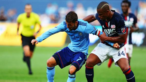 NYCFC 2-1 Revolution: NYC storm back