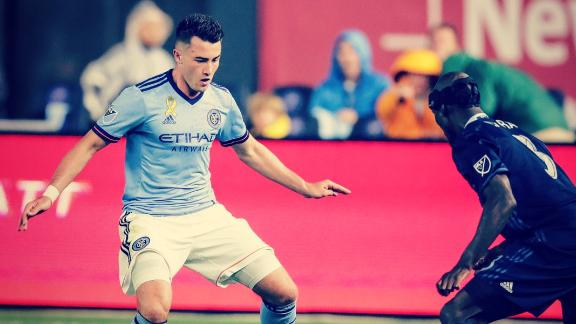 Jack Harrison nets late victor to lead NYCFC past Sporting KC