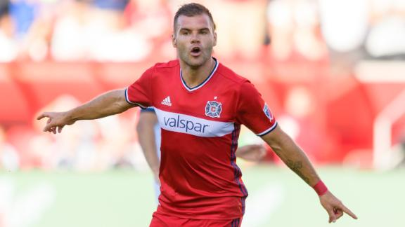 Chicago 1-1 NYRB: Nikolic earns draw for Fire