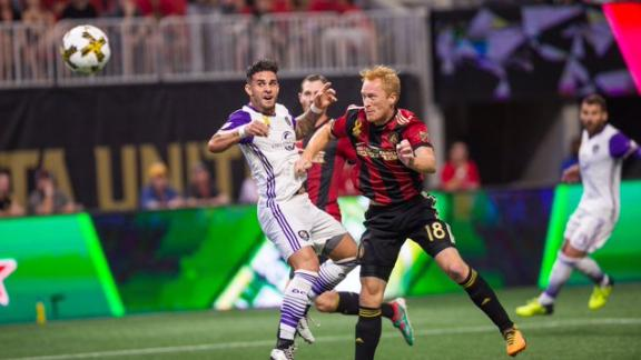 Atlanta 3-3 Orlando: Record crowd sees wild draw
