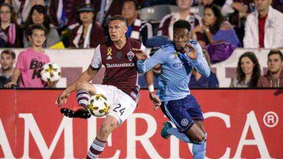 Colorado 1-1 NYCFC: Badji plays hero for Rapids