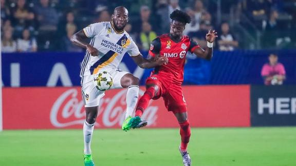 LA Galaxy 0-4 Toronto: Reds rout without stars