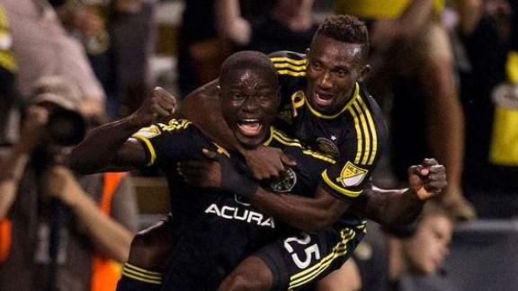 Columbus 3-2 Red Bulls: Crew hang on