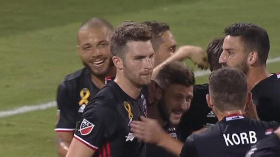 DC United 4-0 Earthquakes: Mullins nets all four