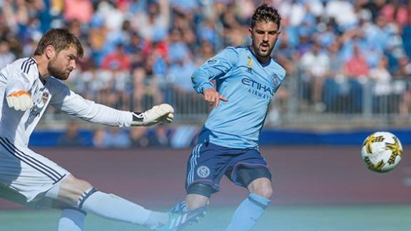 NYCFC 1-1 Houston: Honors even in CT